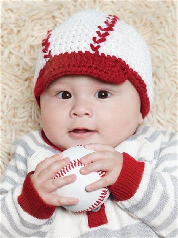 Free Crochet Patterns For Baby Toddler Hats : 10 DIY Cute Kids Crochet Hat Patterns 101 Crochet