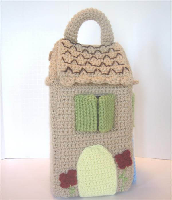 free bird house crochet pattern