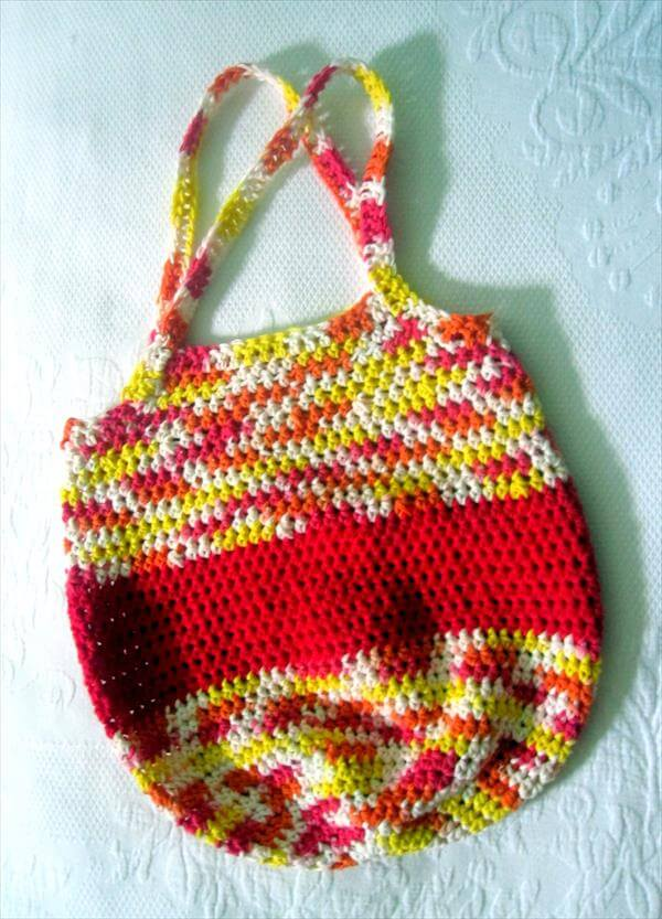 Colorful Crochet Tote Bag Pattern 101 Crochet