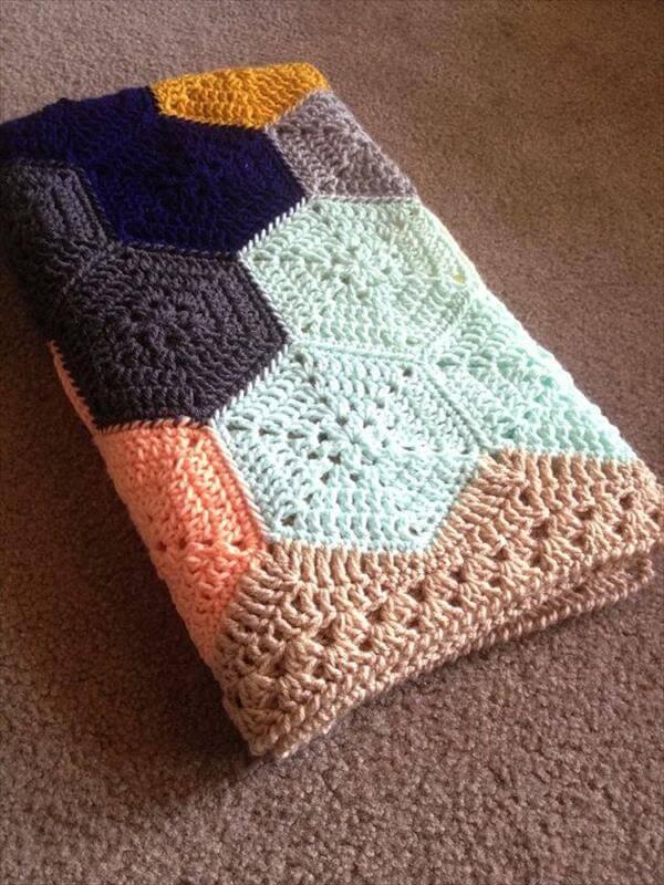 Crochet Lace Baby Blanket Free Pattern : 15 Free Crochet Baby Blanket Patterns 101 Crochet