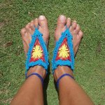 Barefoot Crochet Sandals Pattern