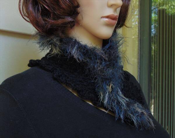 free crochet neckwarmer pattern
