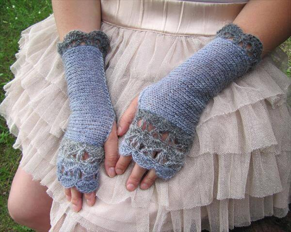 DIY Crochet Fingerless Gloves Pattern 101 Crochet