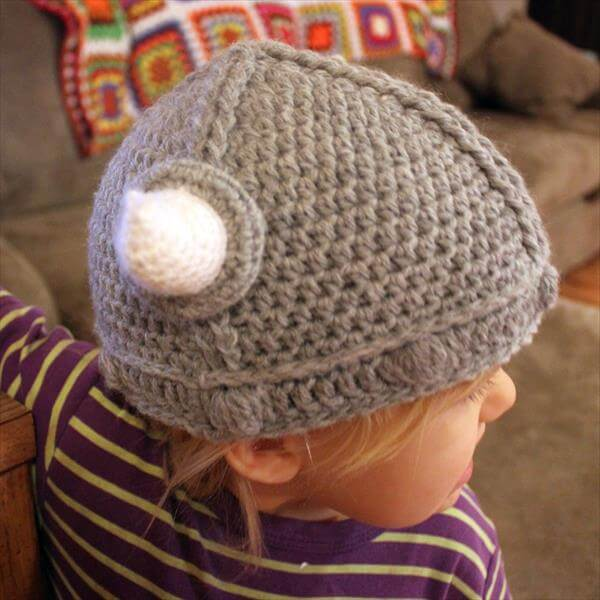 Viking Hat Knitting Pattern Free : lael Viking Crochet Hat Pattern 101 Crochet