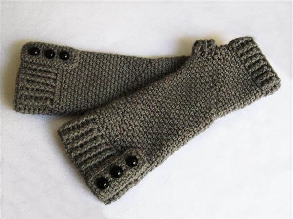 free crochet gloves pattern