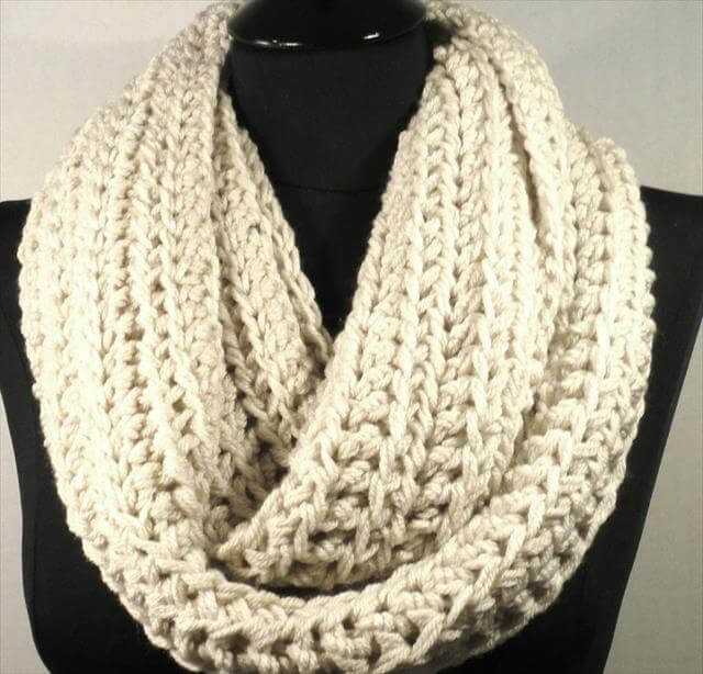 Infinity Scarf Crochet Pattern Car Interior Design
