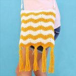 Crochet Fringe Tide Bag