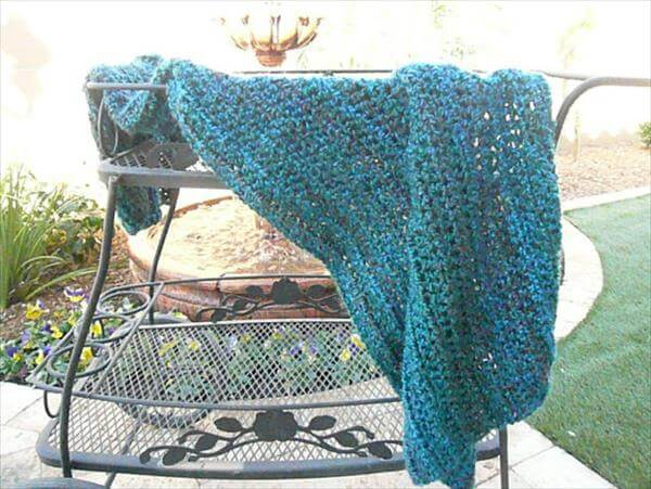 diy crochet baby blanket free pattern