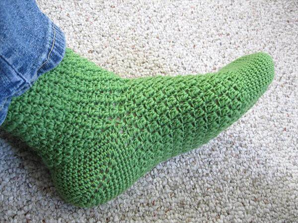 Crochet Socks : easy-crochet-socks-pattern.jpg