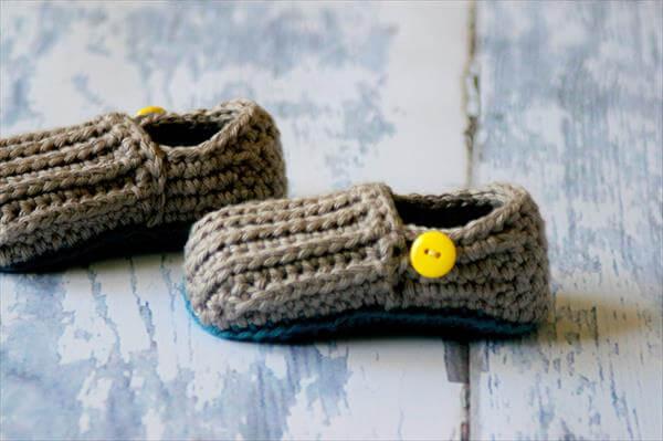 free crochet shoes pattern