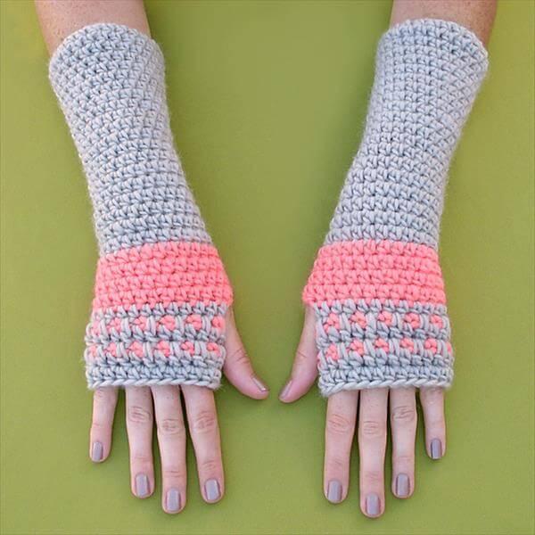 easy crochet arm wamer