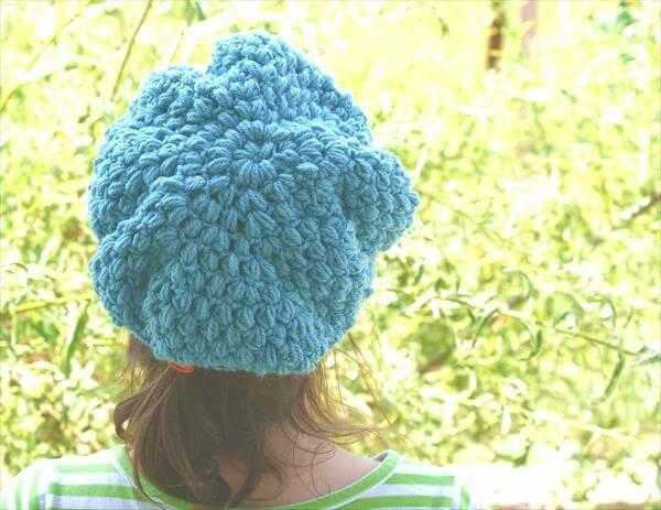 instructions for crochet beanie hat