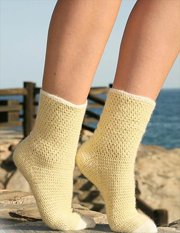 6 free Crochet Socks Pattern 101 Crochet