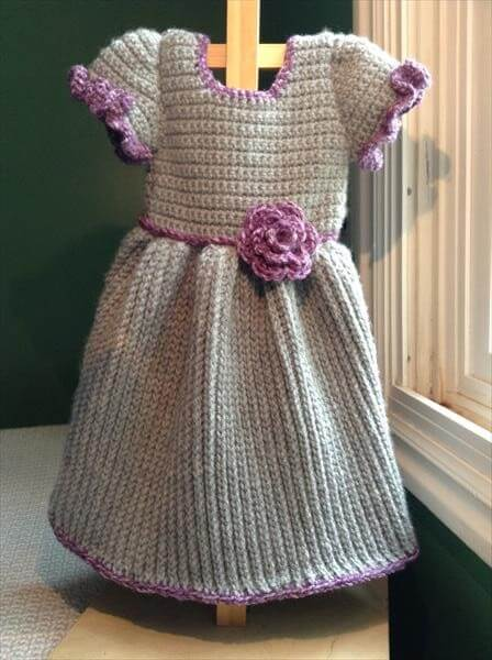 Free Crochet Dress Patterns Easy : Crochet Baby Winter Dress 101 Crochet