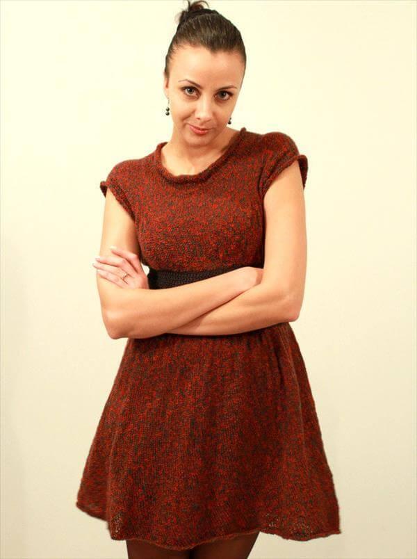 free winter dress pattern for women