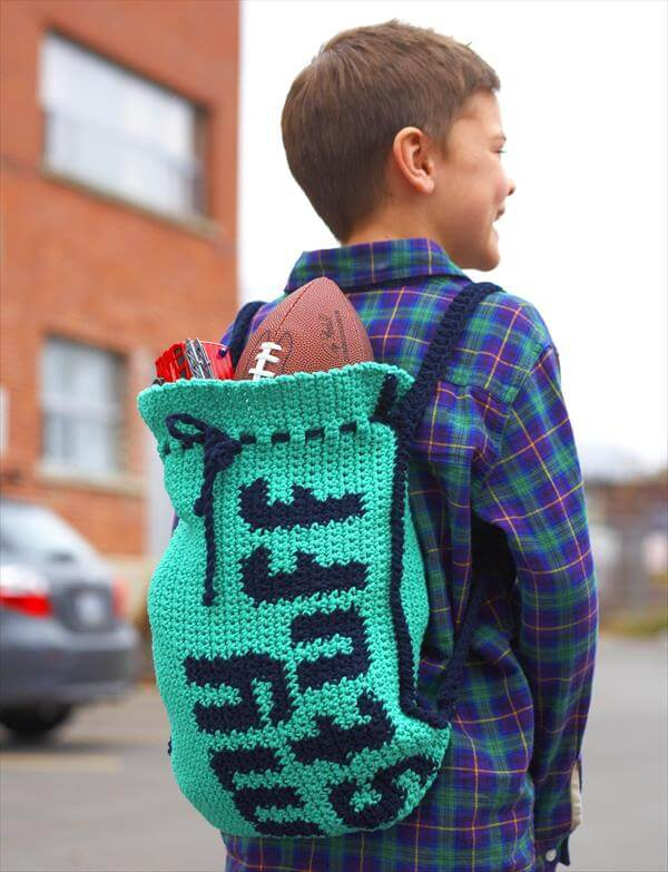 10 Free Kids Crochet Backpack Patterns 101 Crochet