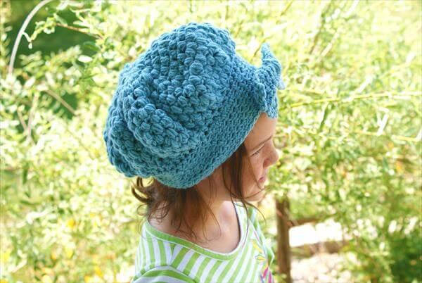vintage styled crochet hat pattern