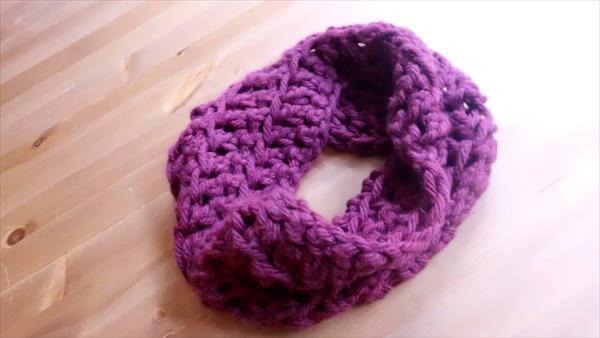 diy crochet cowl