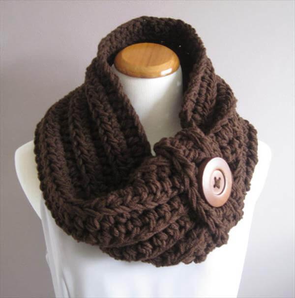 diy crochet nice cowl