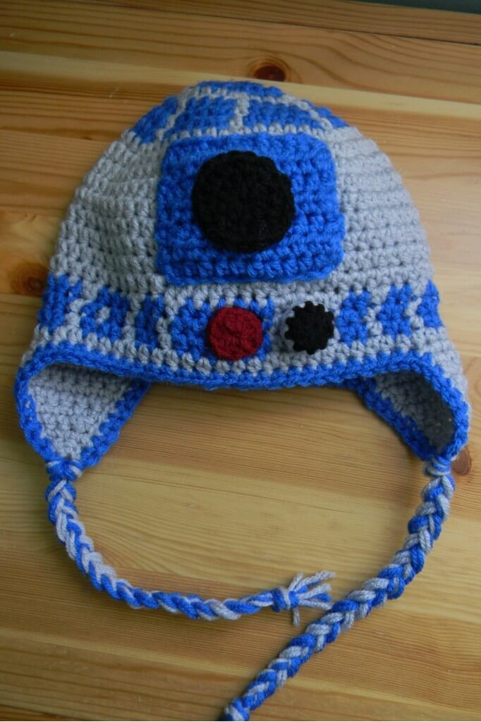 Free Crochet Pattern Star Wars : Free Ear-flap Baby Crochet Hat Pattern 101 Crochet