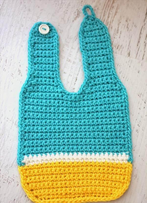 Crochet Patterns Baby Bibs : Crochet Monster Pattern for Baby Bibs Free 101 Crochet