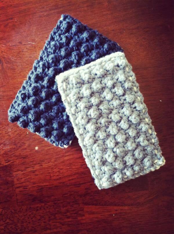 crochet kitchen sponge pattern