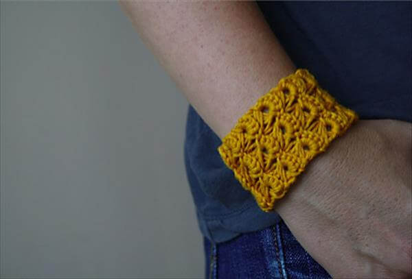 10 easy and free crochet bracelet patterns 101 crochet