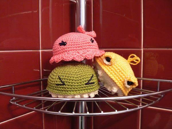 easy crochet foamies pattern