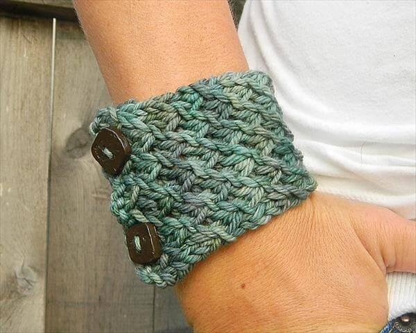 easy crochet bracelet pattern