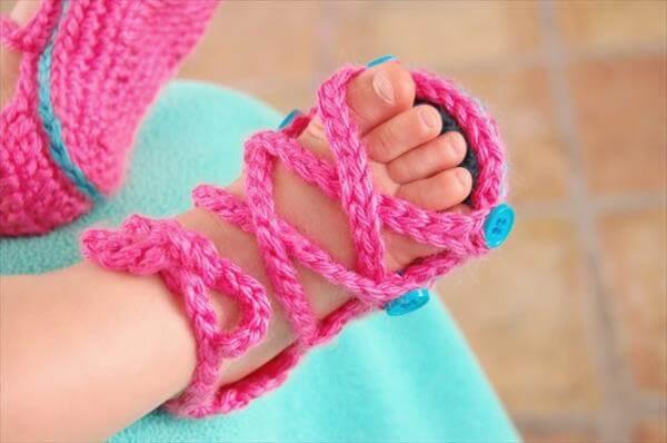 free baby gladiator sandal pattern