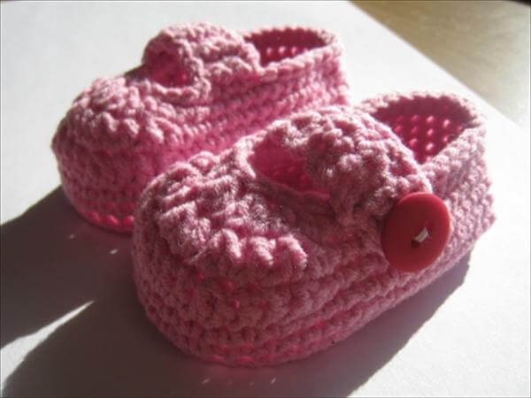 Simple booties pattern from crochet 101 crochet