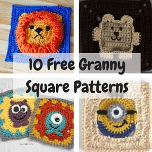Free Crochet Granny Square Clothing Patterns : Totoro Crochet Hat Pattern for Kids 101 Crochet