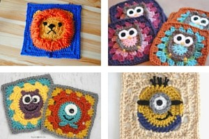 10 Free Crochet Granny Square Patterns