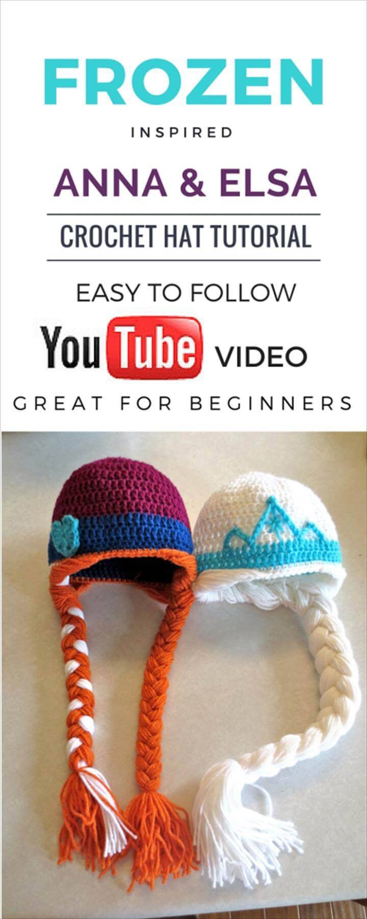 crochet baby hat video tutorial