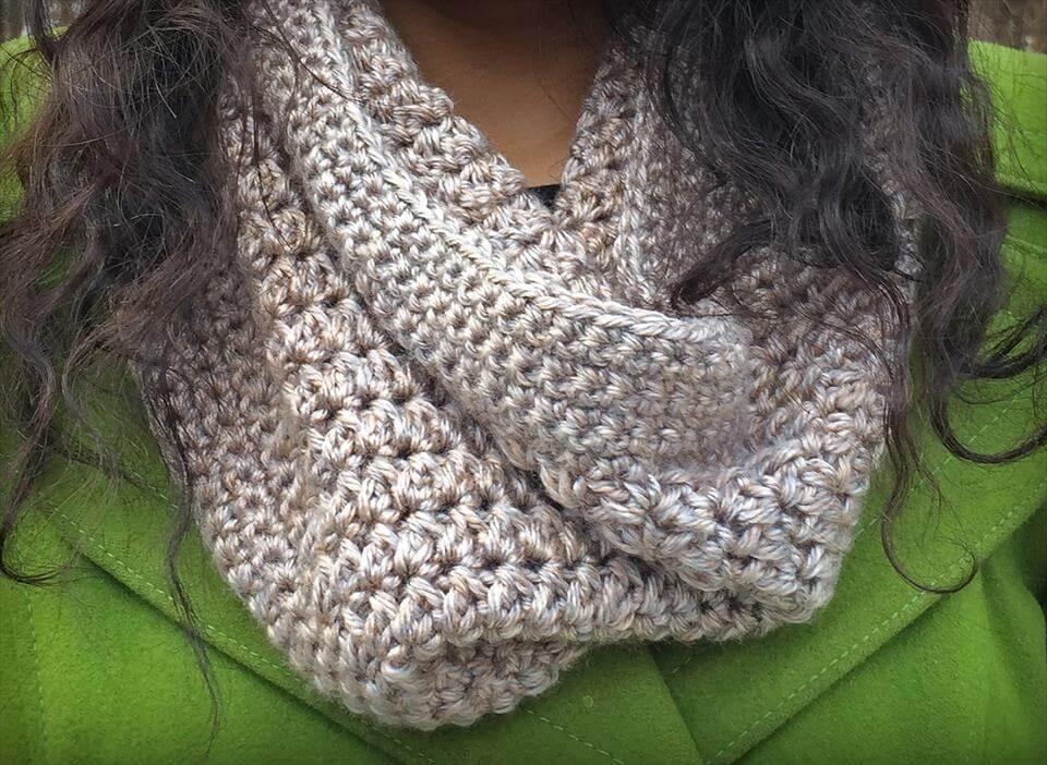 free crochet sandy cowl pattern