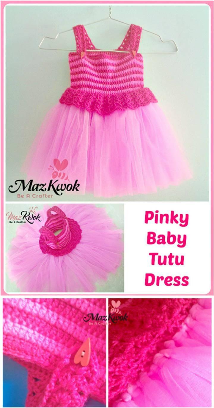 Free Crochet Pattern Tutu Top : 10 Free Crochet Patterns for Girl Tutu Dress Top 101 Crochet