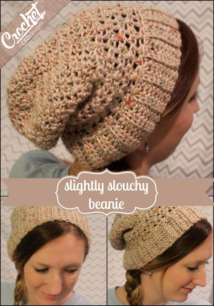 free slouchy beanie pattern